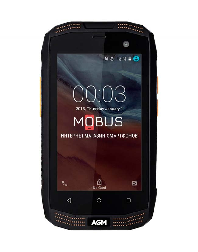 AGM A2 IP68 Black 2/16GB