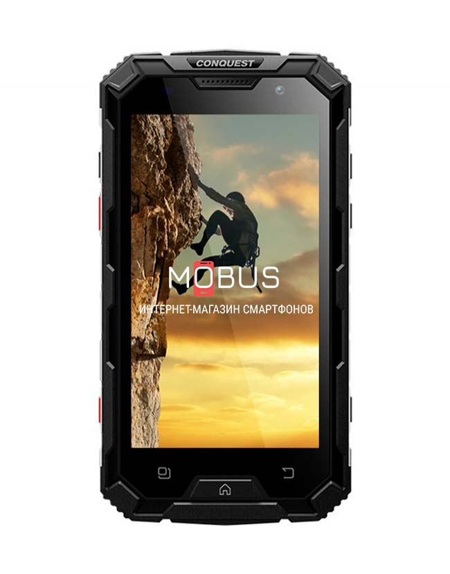 Conquest S8 Pro Black IP68