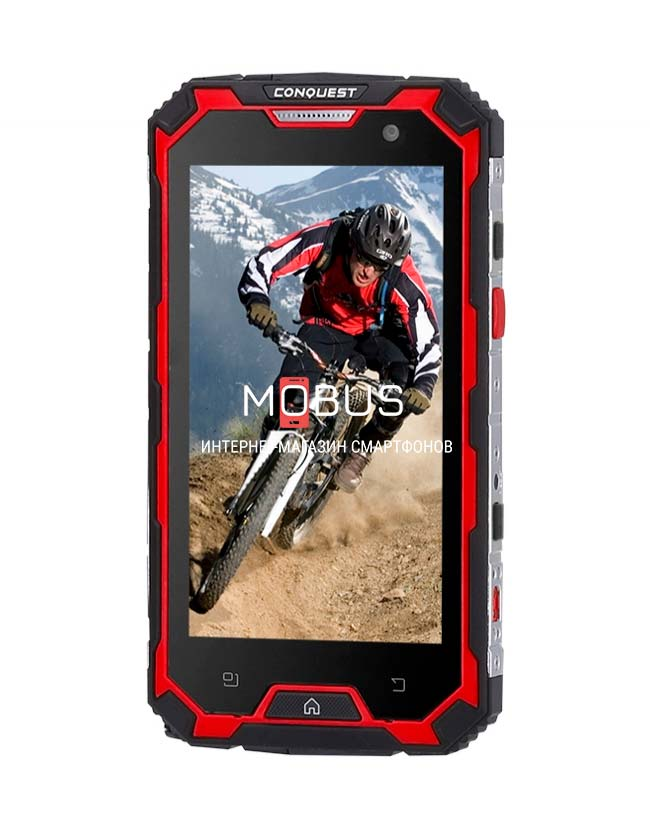 Conquest S8 Pro Red IP68