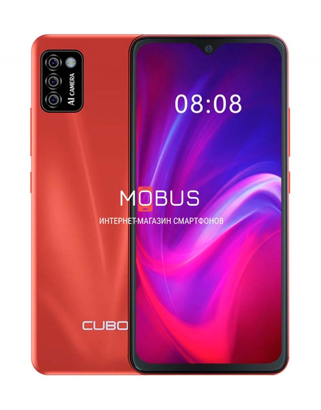 Cubot J8 2/16GB Red