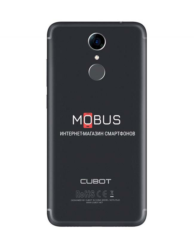 Cubot Note Plus Black