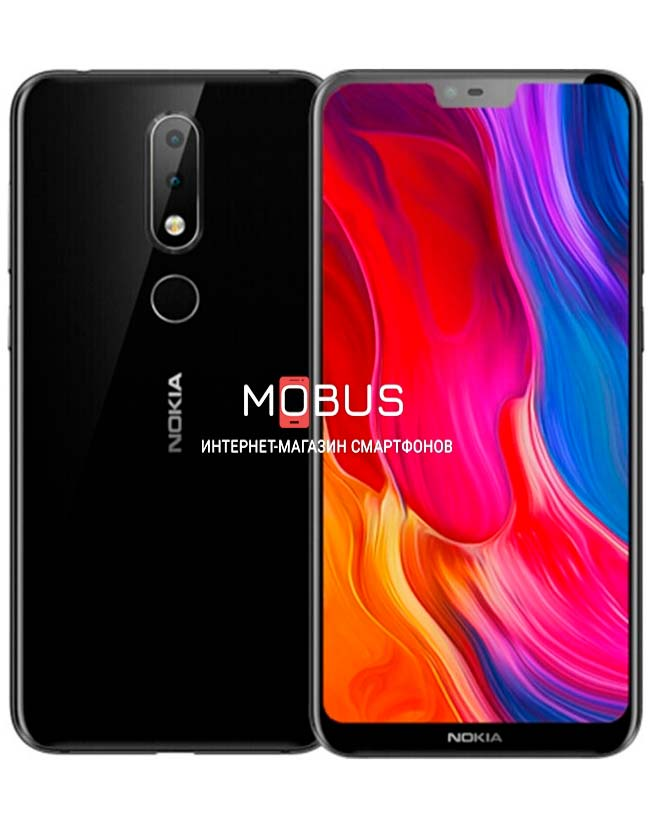 Nokia 6.1 Plus (Nokia x6) 4/64GB Black