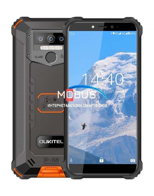 Oukitel WP5 Pro 4/64GB Orange IP68
