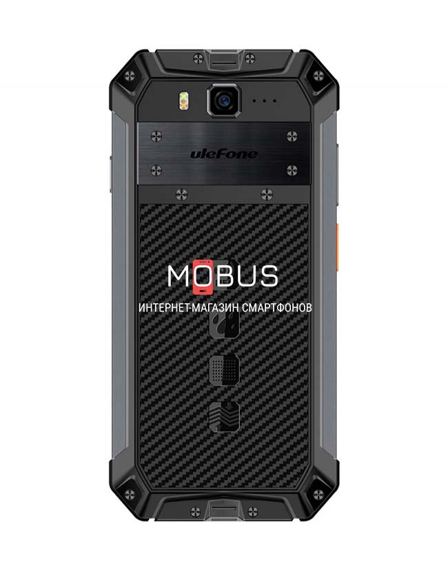Ulefone Armor 3WT 6/64GB Black РАЦИЯ