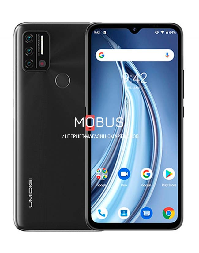 Umidigi A9 3/64GB Black