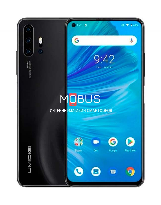 Umidigi F2 6/128GB Black