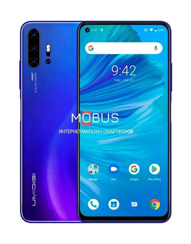 Umidigi F2 6/128GB Blue