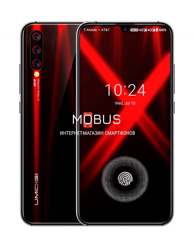 Umidigi X 4/128GB Black