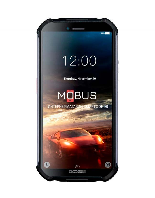 Doogee s40 3/32GB IP68 Black