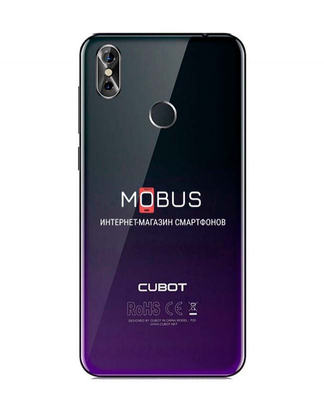 Cubot p20 Twilight Black